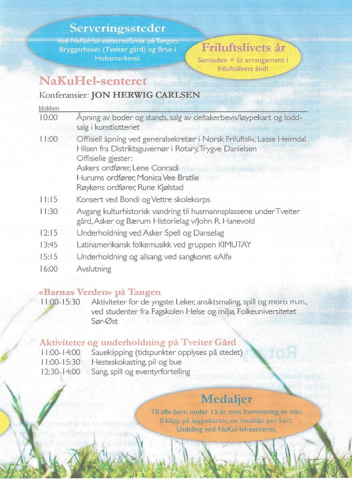 Semiaden 2015 Program